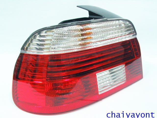 Hella ไฟท้ายขาวแดงเพชร LH รถบีเอ็มดับบลิว BMW E39 520i 523i 525i M52 M54 528i 530i 540i Serie 5