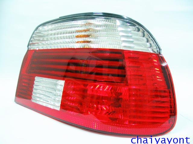 Hella ไฟท้ายขาวแดงเพชร RH รถบีเอ็มดับบลิว BMW E39 520i 523i 525i M52 M54 528i 530i 540i Serie 5
