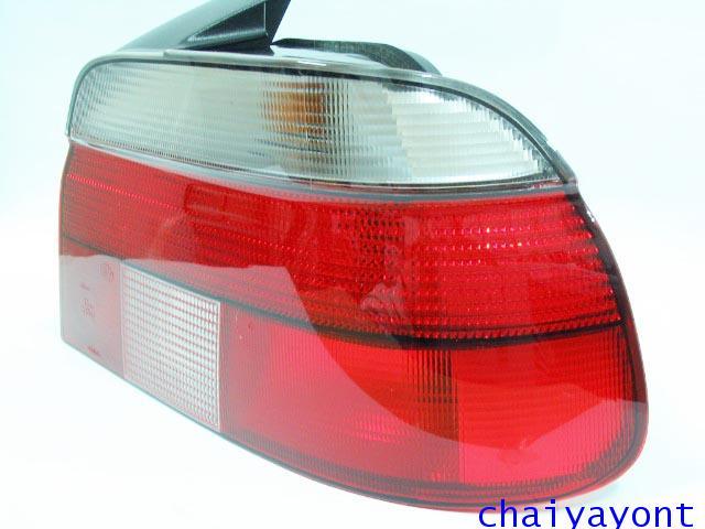 Hella ไฟท้ายขาวแดง RH รถบีเอ็มดับบลิว BMW E39 ปี95 520i 523i 525i M52 M54 528i 530i 540i Serie 5