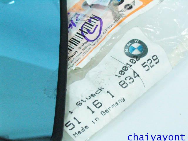 กระจกมองข้างซ้าย OEM รถบีเอ็มดับบิวคลาสสิค Classic Classic BMW E12 518 520 520i 525 M10 M20 Series 5 2