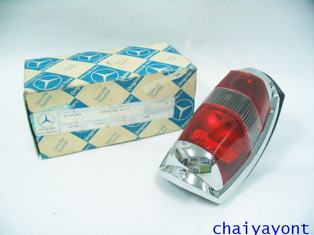 OEM ไฟท้าย ขาว-แดง รถเบนซ์ท้ายมน Classic Vintage Ponton Mercedes-Benz W121 180 190S 190SL 300SL