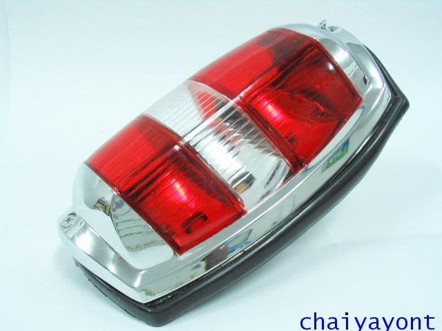 OEM ไฟท้าย ขาว-แดง รถเบนซ์ท้ายมน Classic Vintage Ponton Mercedes-Benz W121 180 190S 190SL 300SL 3