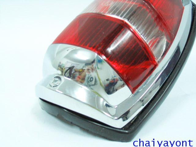 OEM ไฟท้าย ขาว-แดง รถเบนซ์ท้ายมน Classic Vintage Ponton Mercedes-Benz W121 180 190S 190SL 300SL 4