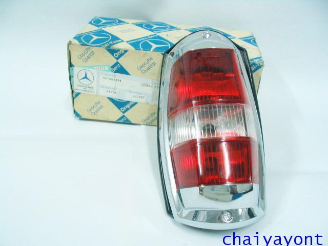 OEM ไฟท้าย ขาว-แดง รถเบนซ์ท้ายมน Classic Vintage Ponton Mercedes-Benz W121 180 190S 190SL 300SL 6