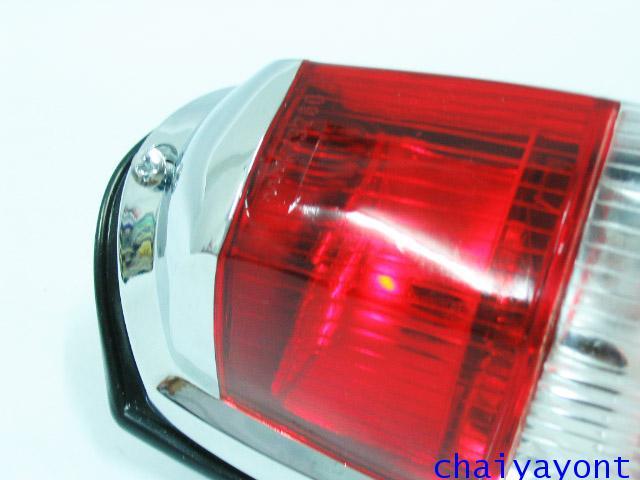 OEM ไฟท้าย ขาว-แดง รถเบนซ์ท้ายมน Classic Vintage Ponton Mercedes-Benz W121 180 190S 190SL 300SL 7