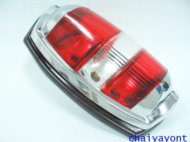 OEM ไฟท้าย ขาว-แดง รถเบนซ์ท้ายมน Classic Vintage Ponton Mercedes-Benz W121 180 190S 190SL 300SL 11