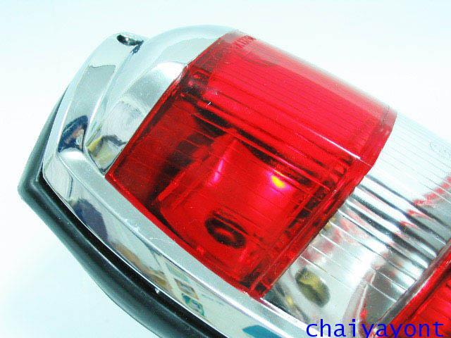 OEM ไฟท้าย ขาว-แดง รถเบนซ์ท้ายมน Classic Vintage Ponton Mercedes-Benz W121 180 190S 190SL 300SL 16