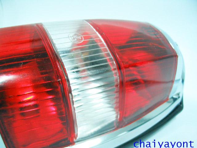 OEM ไฟท้าย ขาว-แดง รถเบนซ์ท้ายมน Classic Vintage Ponton Mercedes-Benz W121 180 190S 190SL 300SL 27