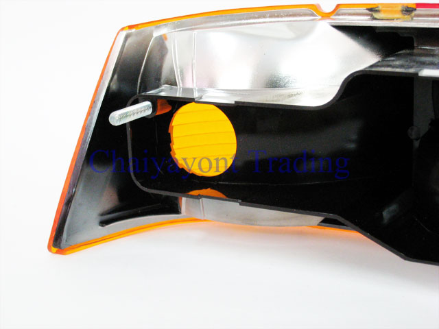 OEM MB เลนส์ไฟท้ายขวาสีส้ม รถเบนซ์โบราณคลาสสิค Pagoda Mercedes-Benz W113 190SL 230SL 250SL 280SL 11