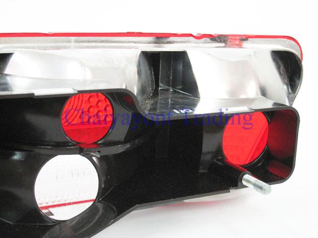 OEM MB เลนส์ไฟท้ายขวาสีส้ม รถเบนซ์โบราณคลาสสิค Pagoda Mercedes-Benz W113 190SL 230SL 250SL 280SL 12