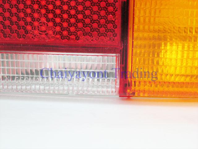 OEM MB เลนส์ไฟท้ายขวาสีส้ม รถเบนซ์โบราณคลาสสิค Pagoda Mercedes-Benz W113 190SL 230SL 250SL 280SL 15