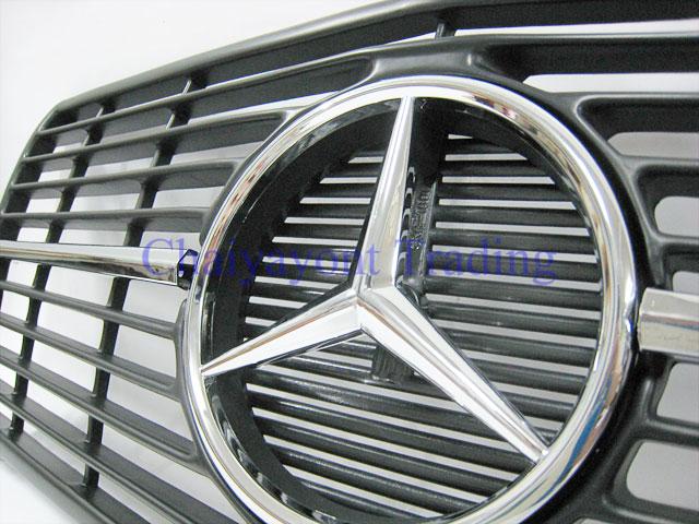 ประดับยนต์ชุดแต่งรถ กระจังหน้าดาวกลาง รถเบนซ์ W126 4 ประตูMercedes-Benz 260 280 300 350 380 500 SEL