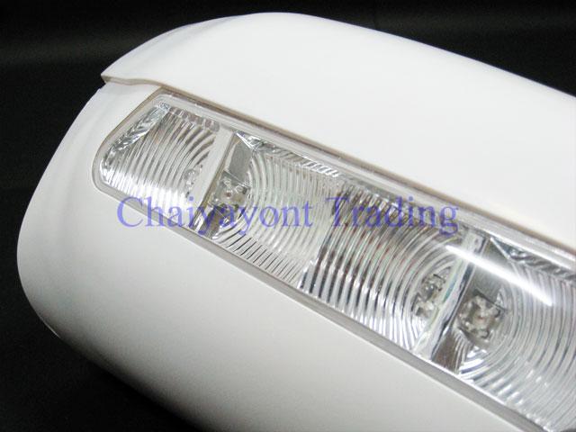 ประดับยนต์ชุดแต่งรถ ครอบกระจกมองข้าง LED รถเบนซ์ Mercedes-Benz W210 E200 E230 E240 E280 Kompressor C 2
