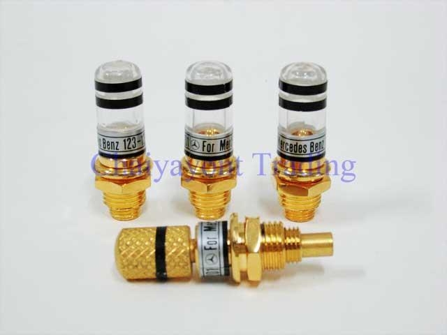 Auto Pro: Gold Color Door Lock Pin Mercedes-Benz W123 W126 all Models 230 240 250D 300D 230E 280E 30 1