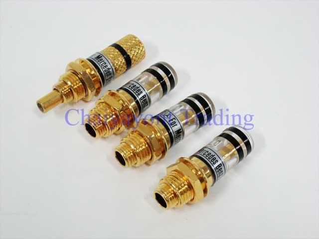 Auto Pro: Gold Color Door Lock Pin Mercedes-Benz W123 W126 all Models 230 240 250D 300D 230E 280E 30 2