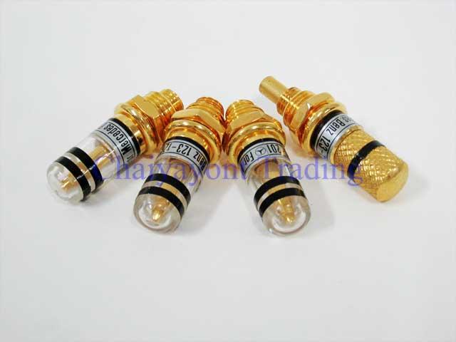 Auto Pro: Gold Color Door Lock Pin Mercedes-Benz W123 W126 all Models 230 240 250D 300D 230E 280E 30