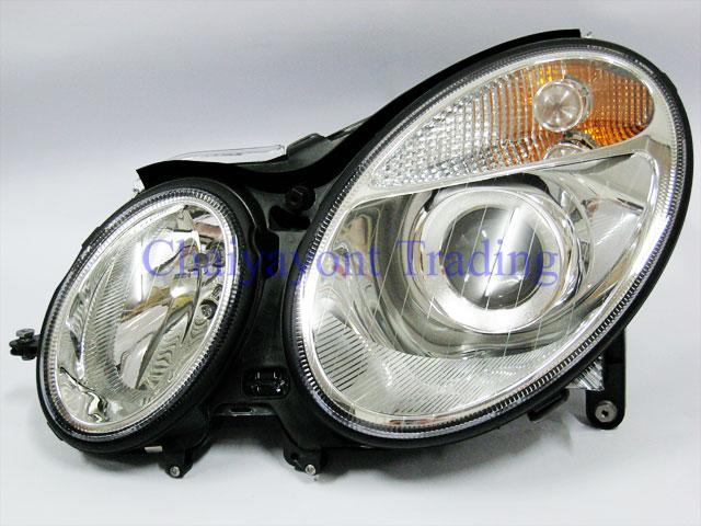 ไฟหน้า OEM Hella รถเบนซ์ Mercedes-Benz W211 E200 E220 E230 E280 E320 E350 E400 E500 CDI Kompressor