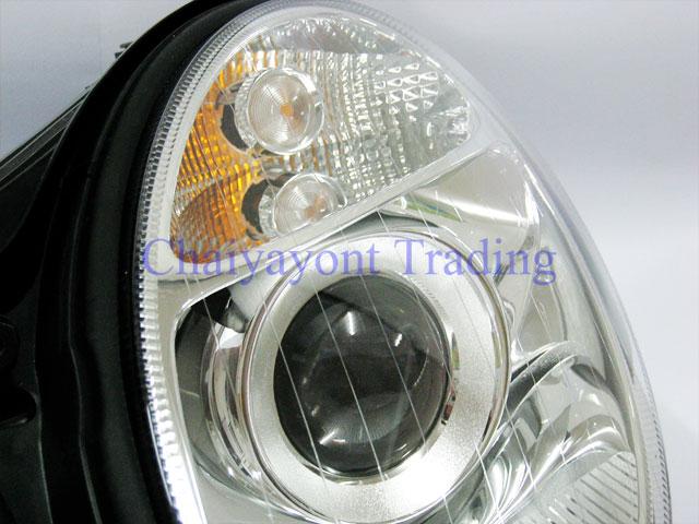 ไฟหน้า OEM Hella รถเบนซ์ Mercedes-Benz W211 E200 E220 E230 E280 E320 E350 E400 E500 CDI Kompressor 2