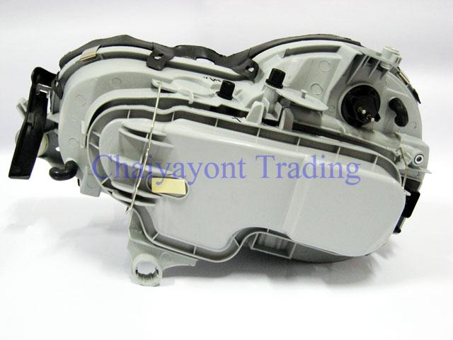 ประดับยนต์ชุดแต่งรถ ไฟหน้า RH Projector Chrome Type I รถเบนซ์ Mercedes-Benz W210 E200 E220 E230 E280 5