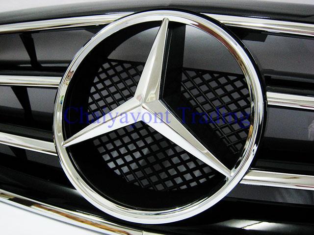 ประดับยนต์ชุดแต่ง กระจังหน้าชุดแต่ง AMG รถเบนซ์ Mercedes-Benz W210 E200 E230 E240 E280 E320 E50 E55 1