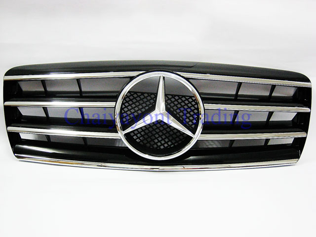 ประดับยนต์ชุดแต่ง กระจังหน้าชุดแต่ง AMG รถเบนซ์ Mercedes-Benz W210 E200 E230 E240 E280 E320 E50 E55 2