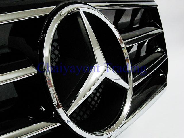 ประดับยนต์ชุดแต่ง กระจังหน้าชุดแต่ง AMG รถเบนซ์ Mercedes-Benz W210 E200 E230 E240 E280 E320 E50 E55 3