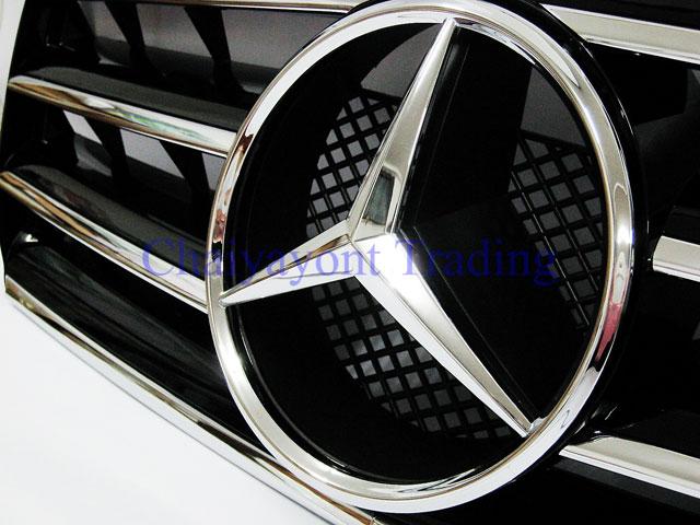 ประดับยนต์ชุดแต่ง กระจังหน้าชุดแต่ง AMG รถเบนซ์ Mercedes-Benz W210 E200 E230 E240 E280 E320 E50 E55 5