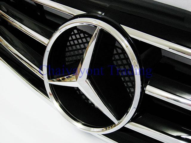 ประดับยนต์ชุดแต่ง กระจังหน้าชุดแต่ง AMG รถเบนซ์ Mercedes-Benz W210 E200 E230 E240 E280 E320 E50 E55 6
