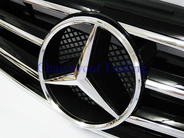 ประดับยนต์ชุดแต่ง กระจังหน้าชุดแต่ง AMG รถเบนซ์ Mercedes-Benz W210 E200 E230 E240 E280 E320 E50 E55 8