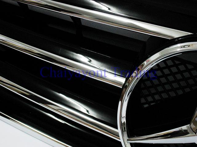ประดับยนต์ชุดแต่ง กระจังหน้าชุดแต่ง AMG รถเบนซ์ Mercedes-Benz W210 E200 E230 E240 E280 E320 E50 E55 9