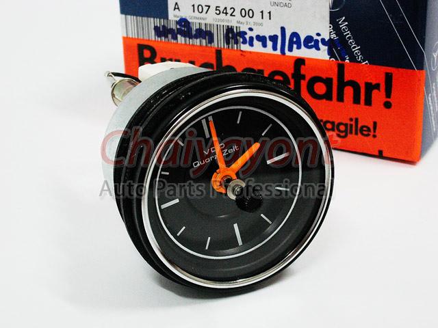 อะไหล่รถยนต์ นาฟิกาหน้าปัดเรือนไมล์ Original VDO Clock รถเบนซ์ Mercedes-Benz W107 280SLC 320SLC 350 4