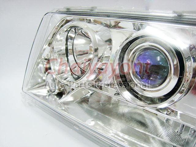 ประดับยนต์ชุดแต่งรถ ไฟหน้า LH Clear Crystal Projector W124 200E 230E 300E 320E 400E 500E E-Class 4