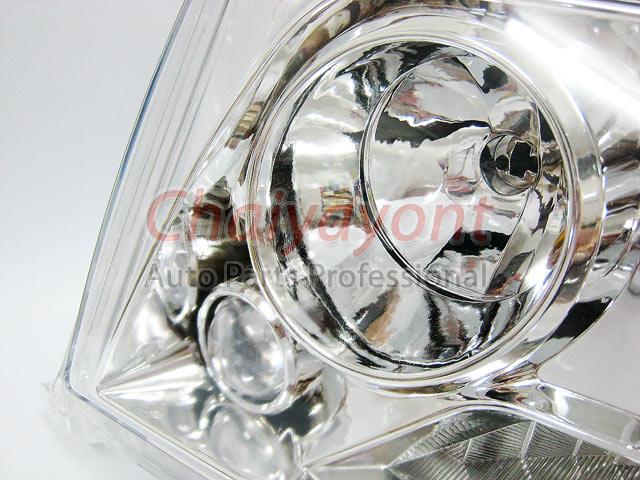 ประดับยนต์ชุดแต่งรถ ไฟหน้า LH Clear Crystal Projector W124 200E 230E 300E 320E 400E 500E E-Class 6