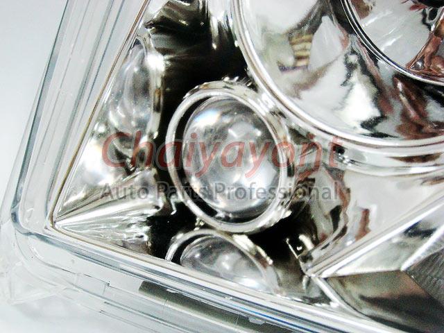 ประดับยนต์ชุดแต่งรถ ไฟหน้า LH Clear Crystal Projector W124 200E 230E 300E 320E 400E 500E E-Class 7