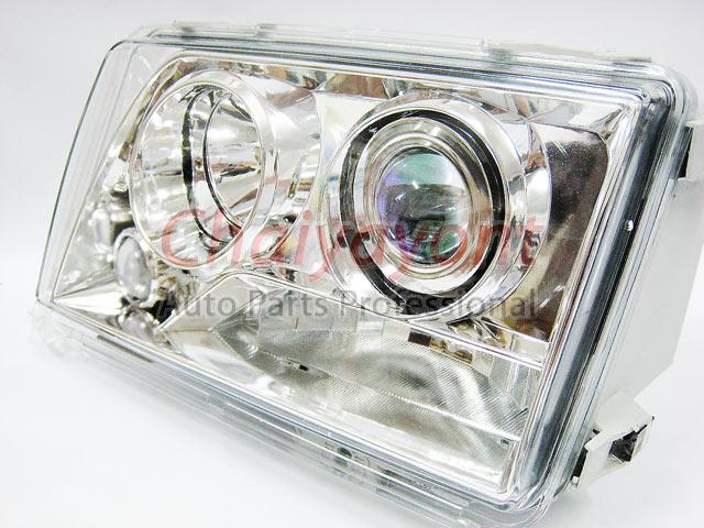 ประดับยนต์ชุดแต่งรถ ไฟหน้า LH Clear Crystal Projector W124 200E 230E 300E 320E 400E 500E E-Class 8