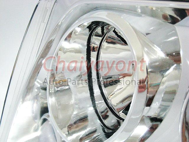 ประดับยนต์ชุดแต่งรถ ไฟหน้า LH Clear Crystal Projector W124 200E 230E 300E 320E 400E 500E E-Class 10