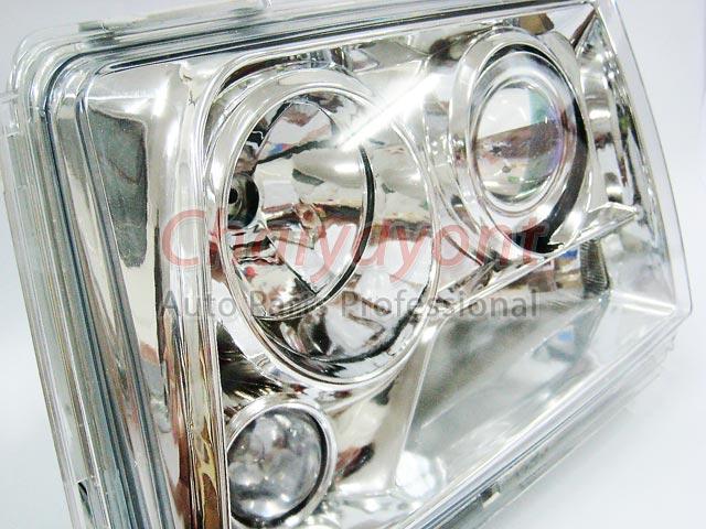 ประดับยนต์ชุดแต่งรถ ไฟหน้า LH Clear Crystal Projector W124 200E 230E 300E 320E 400E 500E E-Class 11