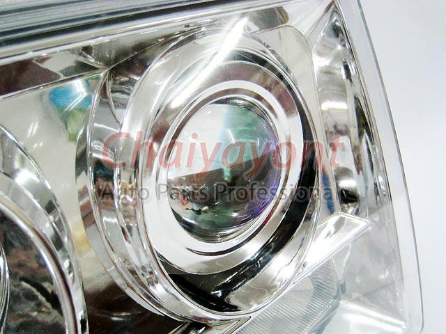 ประดับยนต์ชุดแต่งรถ ไฟหน้า LH Clear Crystal Projector W124 200E 230E 300E 320E 400E 500E E-Class 12