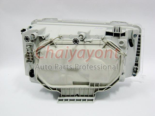 ประดับยนต์ชุดแต่งรถ ไฟหน้า LH Clear Crystal Projector W124 200E 230E 300E 320E 400E 500E E-Class 13