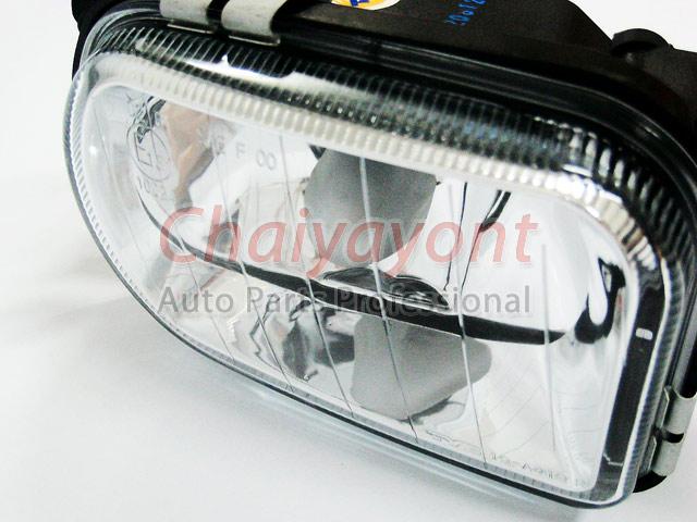 ประดับยนต์ชุดแต่งรถ RH ไฟตัดหมอก Clear Type รถเบนซ์ Mercedes-Benz W203 ปี 2006 C180 C200 C220 C240 C 2