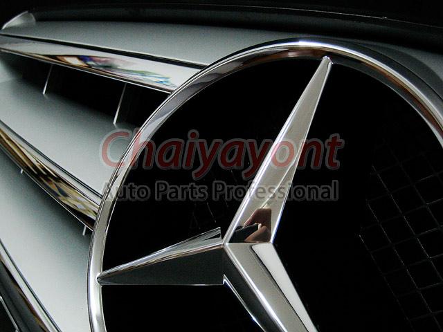 ประดับยนต์ชุดแต่งรถกระจังหน้าสปอร์ตสีเทารถเบนซ์ W204 รุ่น Avantgarde C200 C220 C320 C180 C230 16