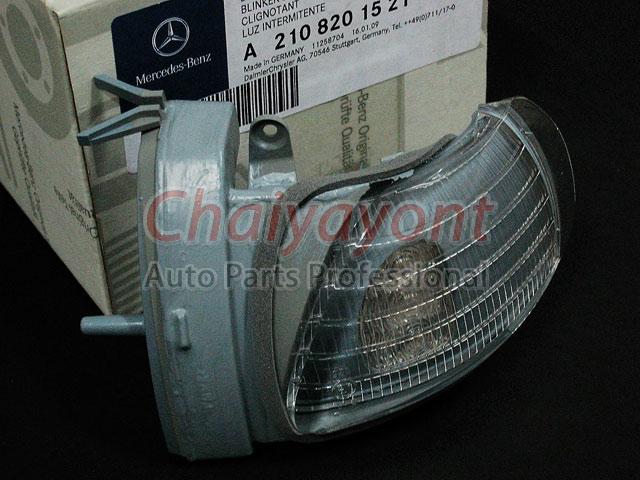 ไฟเลี้ยวกระจกมองข้างซ้าย Original MB ไฟหรี่มองข้าง รถเบนซ์ Mercedes-Benz W210 E200 E220 E240 CDI Kom