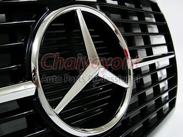 ประดับยนต์ชุดแต่งกระจังดาวกลาง Powered Star AMG Mercedes-Benz W123 230 230E 280E 220D 240D 300D 230T