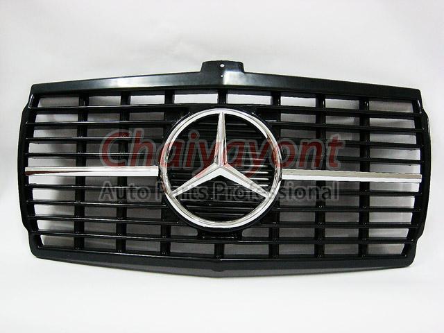 ประดับยนต์ชุดแต่งกระจังดาวกลาง Powered Star AMG Mercedes-Benz W123 230 230E 280E 220D 240D 300D 230T 1