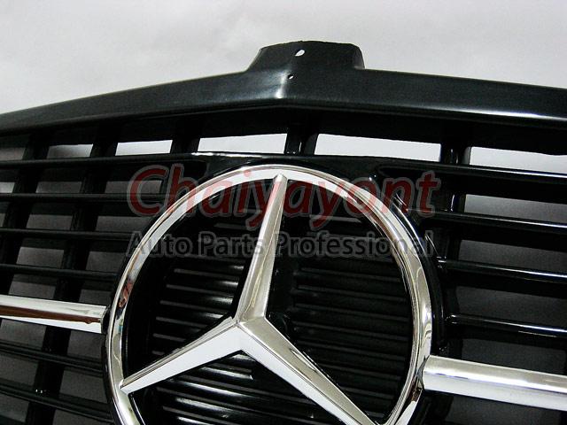 ประดับยนต์ชุดแต่งกระจังดาวกลาง Powered Star AMG Mercedes-Benz W123 230 230E 280E 220D 240D 300D 230T 2
