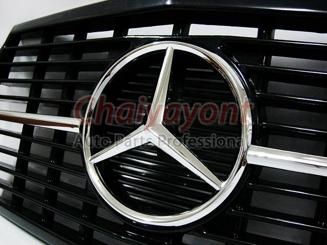 ประดับยนต์ชุดแต่งกระจังดาวกลาง Powered Star AMG Mercedes-Benz W123 230 230E 280E 220D 240D 300D 230T 4
