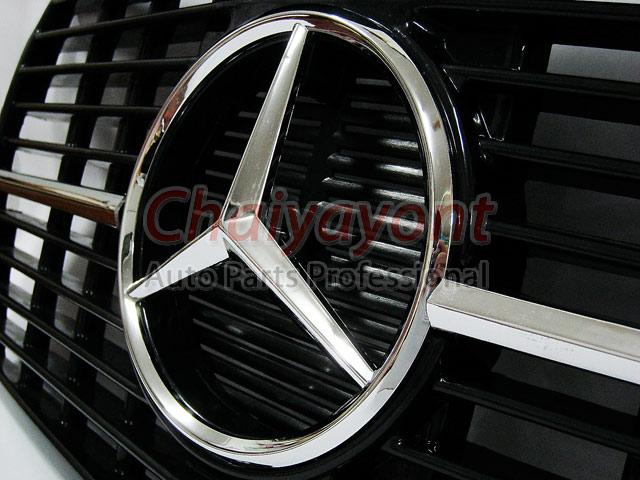 ประดับยนต์ชุดแต่งกระจังดาวกลาง Powered Star AMG Mercedes-Benz W123 230 230E 280E 220D 240D 300D 230T 6