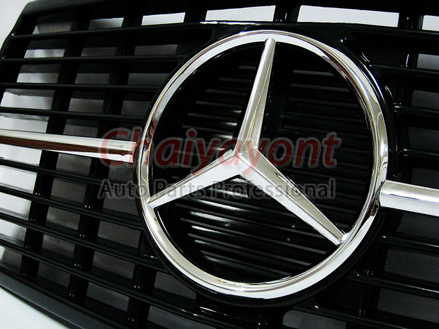 ประดับยนต์ชุดแต่งกระจังดาวกลาง Powered Star AMG Mercedes-Benz W123 230 230E 280E 220D 240D 300D 230T 7