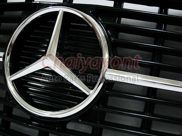 ประดับยนต์ชุดแต่งกระจังดาวกลาง Powered Star AMG Mercedes-Benz W123 230 230E 280E 220D 240D 300D 230T 9