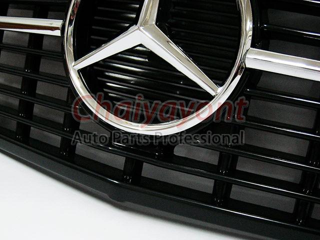 ประดับยนต์ชุดแต่งกระจังดาวกลาง Powered Star AMG Mercedes-Benz W123 230 230E 280E 220D 240D 300D 230T 10